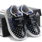 รองเท้าผ้าใบเด็ก-Adidas-สีดำ-(6-คู่/แพ็ค)