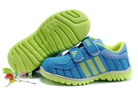 รองเท้าผ้าใบเด็ก Adidas สีฟ้า(6 คู่/แพ็ค)