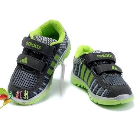 รองเท้าผ้าใบเด็ก Adidas สีเทา (6 คู่/แพ็ค)