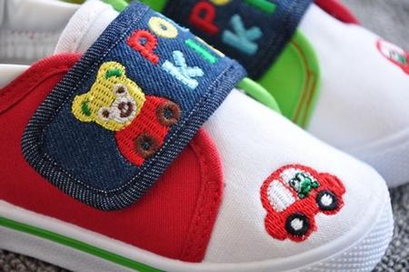 รองเท้าผ้าใบเด็ก POP Kids (8 คู่/แพ็ค)