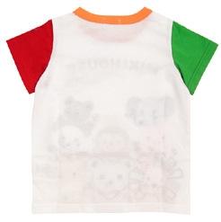 เสื้อยืดแขนสั้น Mikihouse สีขาว (5 ตัว/pack)