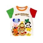 เสื้อยืดแขนสั้น-Mikihouse-สีขาว-(5-ตัว/pack)