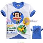 เสื้อแขนสั้น-Paul-ชาไข่มุก-สีฟ้า-(6size/pack)
