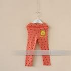 กางเกงเลกกิ้งขายาวหมีพูลล์-สีชมพูส้ม-(6-ตัว-/pack)