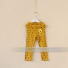 กางเกงเลกกิ้งขายาวหมีพูลล์-สีเหลือง-(6-ตัว-/pack)
