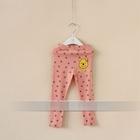 กางเกงเลกกิ้งขายาวหมีพูลล์-สีชมพู-(6-ตัว-/pack)