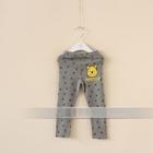 กางเกงเลกกิ้งขายาวหมีพูลล์-สีเทา-(6-ตัว-/pack)