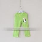 กางเกงเลกกิ้งขายาว-Kitty-สีเขียว-(5-ตัว-/pack)