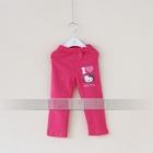 กางเกงเลกกิ้งขายาว-Kitty-สีบานเย็น-(5-ตัว-/pack)
