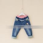 กางเกงยีนส์ขายาว-Hello-Kitty-สีน้ำเงิน(5-ตัว/pack)