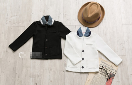 เสื้อสูทไฮโซ Dinning สีดำ (5 ตัว/pack)