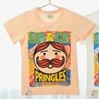 เสื้อแขนสั้น-Pringles-สีส้ม-(5-ตัว/pack)