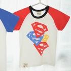 เสื้อแขนสั้น-Triple-Superman-สีแดง-(5ตัว/pack)