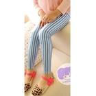 กางเกงขายาวลายทาง-สีฟ้า-(5-ตัว/pack)