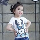 เสื้อแขนสั้น-Snoopy-Star-สีขาว-(5ตัว/pack)