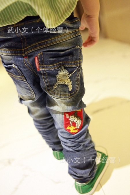 กางเกงยีนส์ขายาว New York (5ตัว/pack)