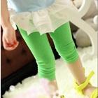 กางเกงเลกกิ้ง-สีเขียว-(5size/pack)
