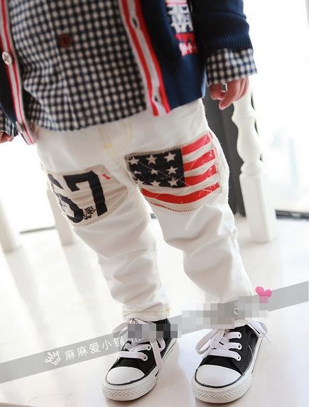 กางเกงขายาว 67 USA สีขาว (5 ตัว/pack)