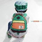 เสื้อแขนสั้น-Bus-Trip-สีเทา-(5ตัว/pack)