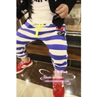 กางเกงขายาวลายขวางPLAY-Comme-สีน้ำเงิน-(5ตัว/pack)