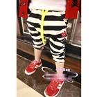 กางเกงขายาวลายขวาง-PLAY-Comme-สีดำ-(5ตัว/pack)
