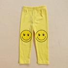 กางเกงขายาวลาย-SMILE-สีเหลืองสด-(5ตัว/pack)