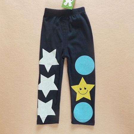 กางเกงขายาวลาย STAR สีกรมท่า (5ตัว/pack)