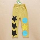 กางเกงขายาวลาย-STAR-สีเหลือง-(5ตัว/pack)