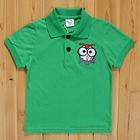 เสื้อยืดโปโลตั๊กแตน-สีเขียว-(5size/pack)