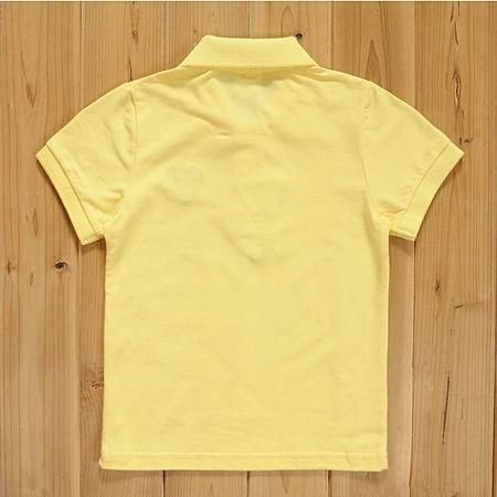 เสื้อยืดโปโล PLAY Comme สีเหลือง (5size/pack)