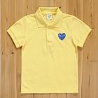 เสื้อยืดโปโล-PLAY-Comme-สีเหลือง-(5size/pack)