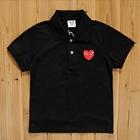 เสื้อยืดโปโล-PLAY-Comme-สีดำ-(5size/pack)