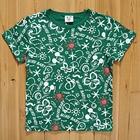 เสื้อยืด-Mickey-Holiday-สีเขียว-(5size/pack)