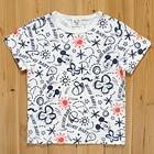 เสื้อยืด-Mickey-Holiday-สีขาว-(5size/pack)