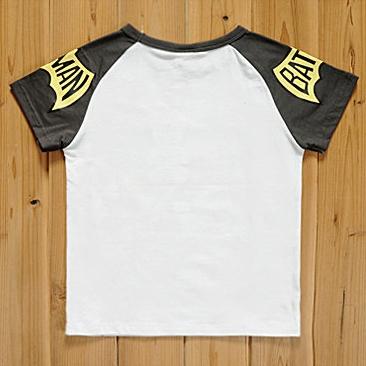 เสื้อแขนสั้น Batman Star สีเทา (5size/pack)