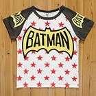 เสื้อแขนสั้น-Batman-Star-สีเทา-(5size/pack)