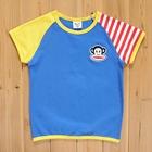 เสื้อแขนสั้น-PaulFrank-สีฟ้า-(5size/pack)