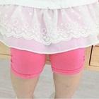 กางเกงเลกกิ้ง-สีชมพูเข้ม-(5size/pack)