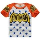 เสื้อแขนสั้น-Batman-Star-สีส้ม-(5ตัว/pack)