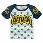 เสื้อแขนสั้น-Batman-Star-สีคราม-(5ตัว/pack)