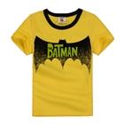 เสื้อแขนสั้น-The-Batman-สีเหลือง-(5ตัว/pack)