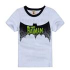 เสื้อแขนสั้น-The-Batman-สีขาว-(5ตัว/pack)