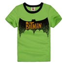เสื้อแขนสั้น-The-Batman-สีเขียว-(5ตัว/pack)