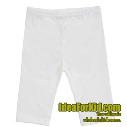 กางเกงเลกกิ้ง สีขาว (5size/pack)