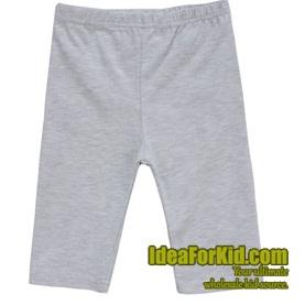 กางเกงเลกกิ้ง สีเทา (5size/pack)