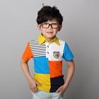 เสื้อโปโลหลากสี-ปกเหลือง-(5-ตัว/pack)