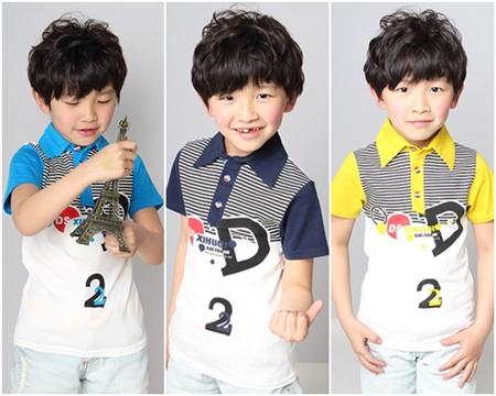 เสื้อโปโล D2 สีกรมท่า (5 ตัว/pack)