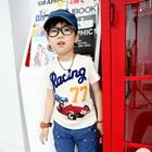 เสื้อยืด-Racing-77-สีขาว-(5size/pack)