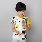 เสื้อแขนสั้ัน-Calvin-สีเหลือง-(5ตัว/pack)