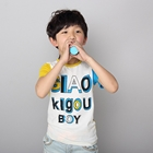 เสื้อแขนสั้ัน-GIAO-BOY-สีเหลืองฟ้า-(5ตัว/pack)